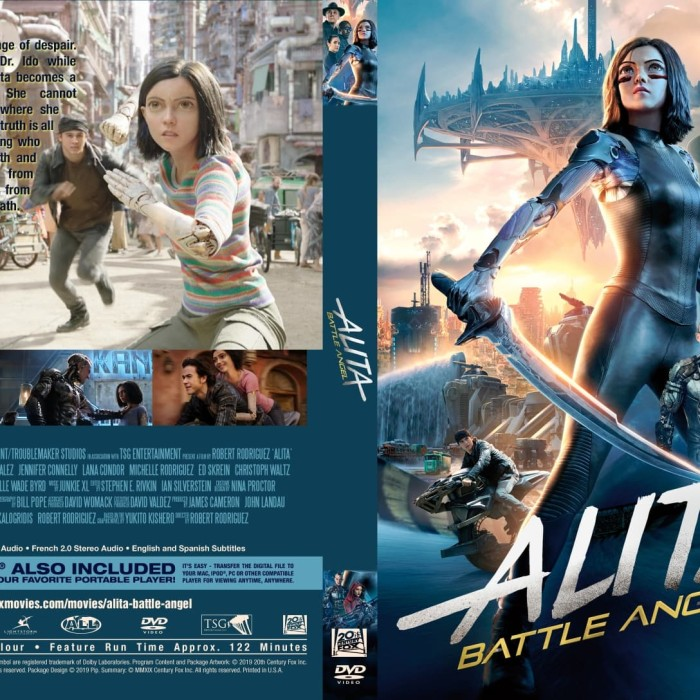Jual Film Dvd Alita Battle Angel 2019 Movie Collection Film Koleksi Jakarta Barat M Collector Tokopedia