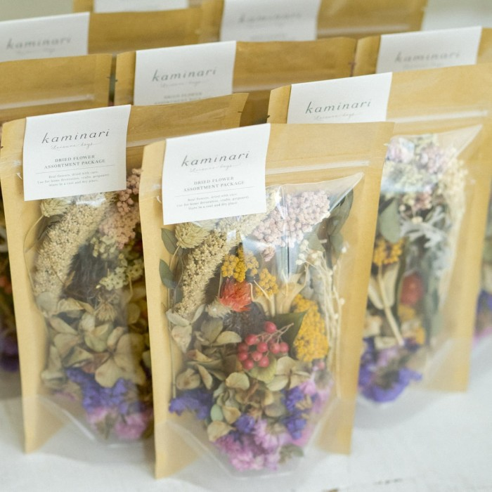 Foto Produk Kaminari Dried Flower Assortment Package / Bunga Kering dari Kaminari Leisure Days