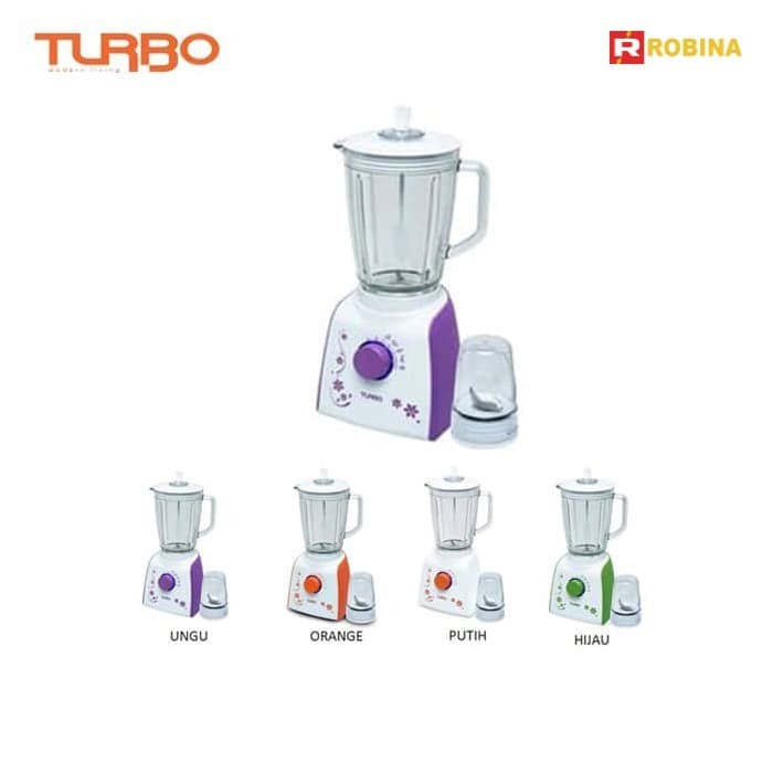 harga Turbo - countertop blender plastik ehm8099 series - orange Tokopedia.com