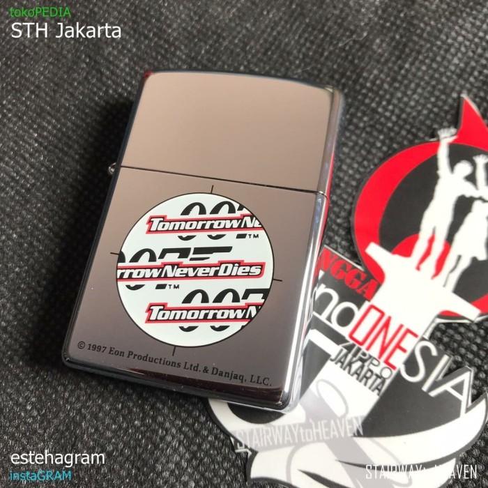 Jual Zippo James Bond 007 Tomorrow Never Dies 1997 Romawi Rare Jakarta Barat Sth Jakarta Tokopedia