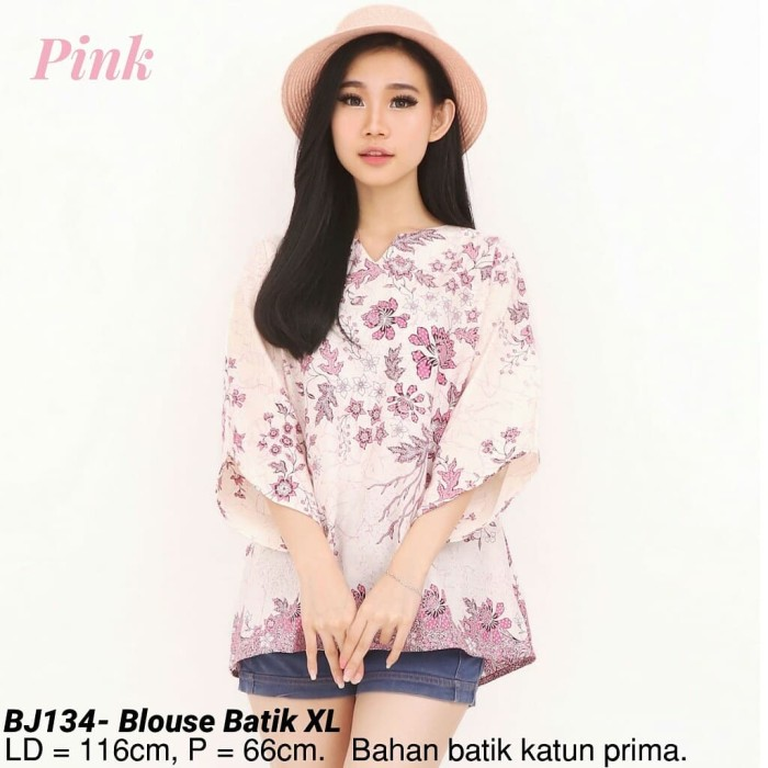 harga Bigsize blouse dewi batik jumbo modern atasan cewek etnik wanita murah Tokopedia.com