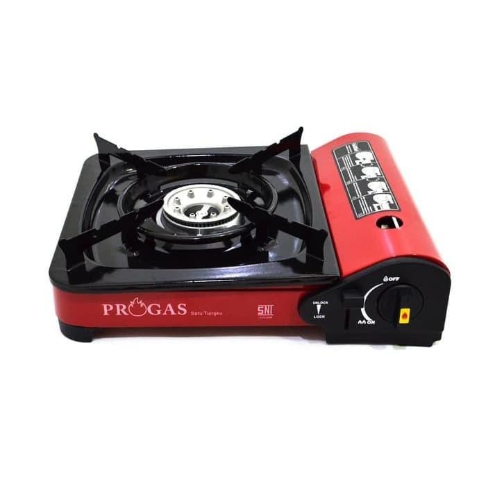 Foto Produk Progas Kompor Portable 2 In 1 Gas Kaleng /Gas Elpiji 3 Kg & 12Kg 2in1 dari MayKitchenware