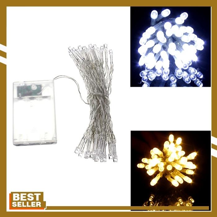 Jual Aa Battery Mini 40 Leds Cool Warm White Christmas String Fairy Lights Jakarta Barat Famous Import Shop Tokopedia