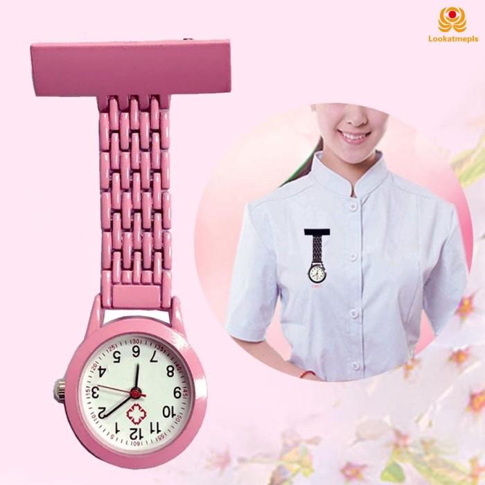 Foto Produk Nurse Quartz Watch Brooch Pocket Brooch Clip Medical Nurse Pocket Nurs dari AL3XA 3XPRESS