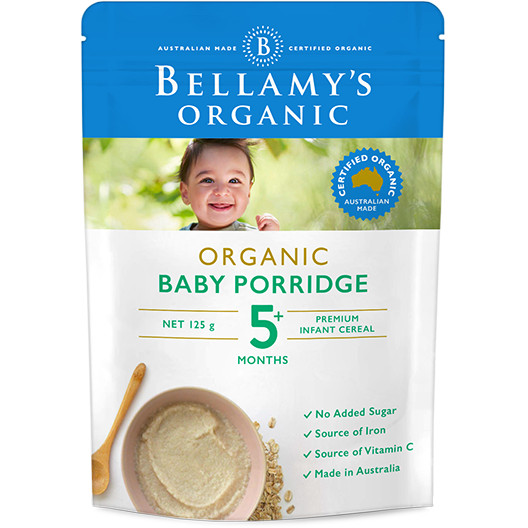 harga Bellamy's organic baby porridge 5+ Tokopedia.com