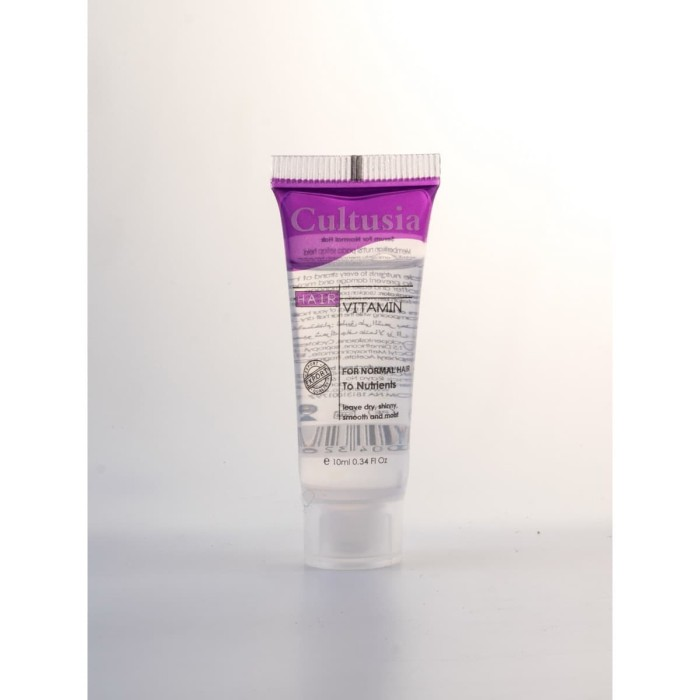 harga Cultusia hair vitamin normal 10 ml (1 box isi 6) Tokopedia.com