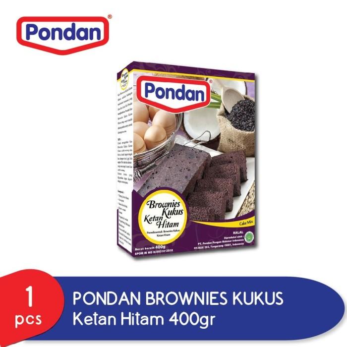 Foto Produk Pondan Brownies Kukus Ketan Hitam dari Pondan Food