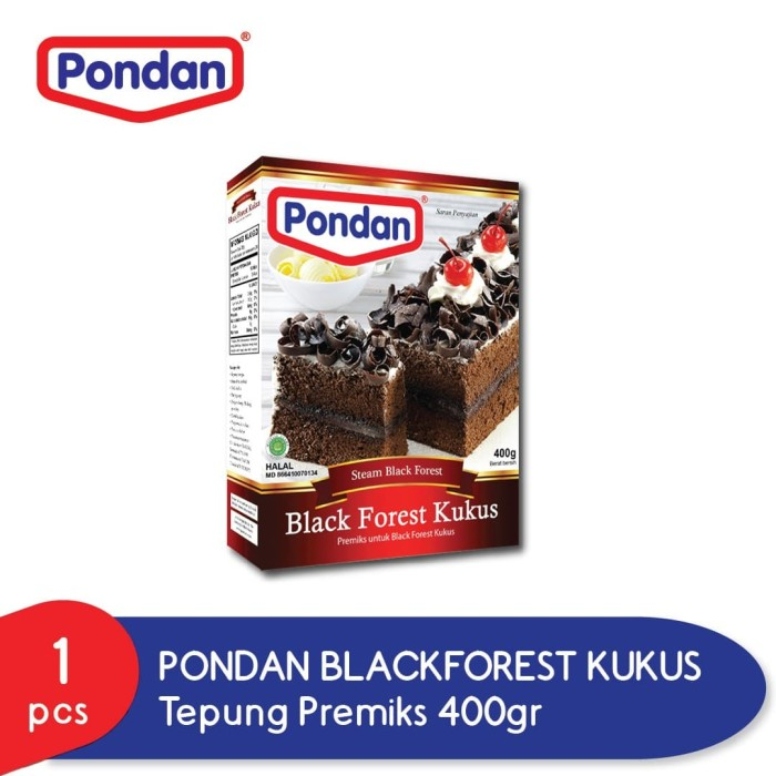 Foto Produk PONDAN Blackforest Kukus - Steam Blackforest dari Pondan Food