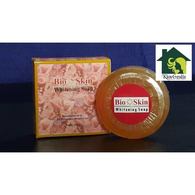 Foto Produk Bioskin Whitening Soap / Sabun Pemutih Wajah Bioskin dari KiosGeulis