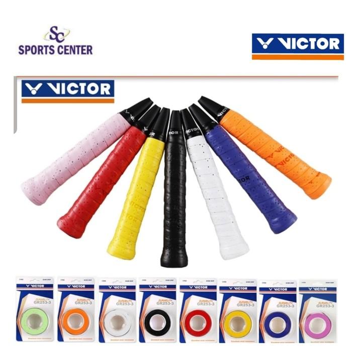 harga Restock !! grip / overgrip badminton victor gr 253 / gr253 Tokopedia.com