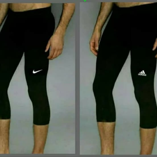 Jual Celana Legging Baselayer Leging 3 4 7 8 Manset Olahraga Sepeda Kota Bandung Laris Online Shop Tokopedia