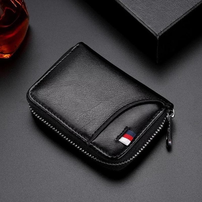 Foto Produk RFID PROTECTED Wallet / Dompet Mini Kartu RFID WL078 dari Rising.collection