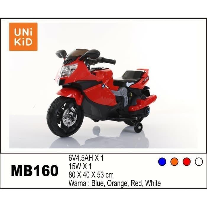 Foto Produk Mainan Motor Aki Anak Unikid BMW MB 160/ Ride On dari BRECHT.ID