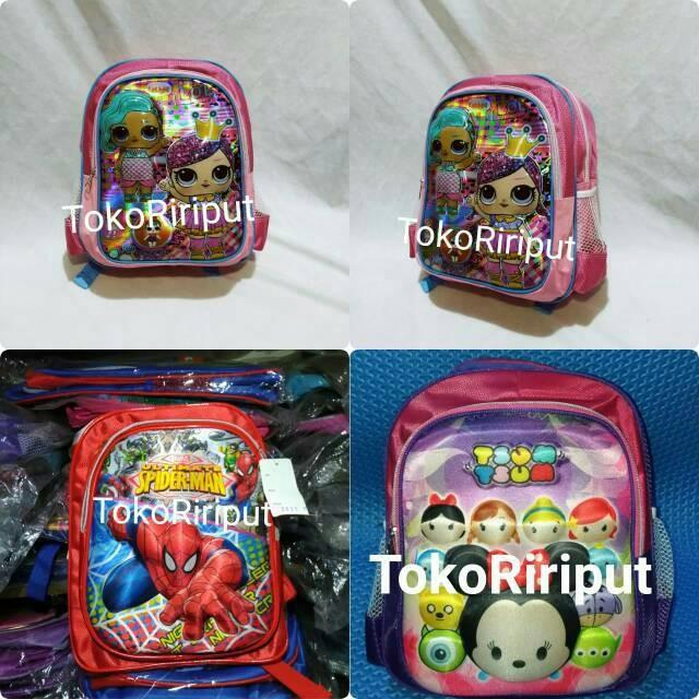 Jual Tas Karakter Timbul Tayo Hello Kitty Kuda Poni Biru Batman Frozen Cars Kota Surabaya Market Online Mall Tokopedia