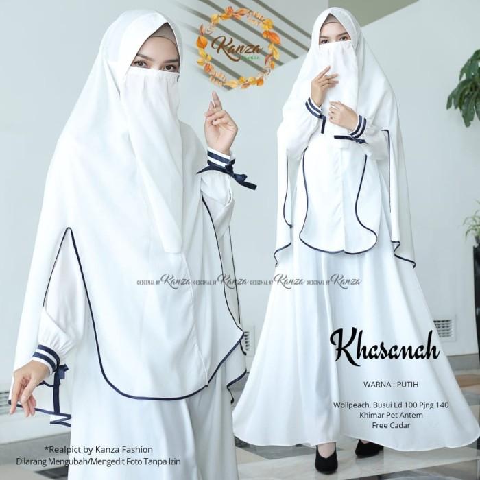 Jual Khasanah Syari Gamis Bercadar Dress Masakini Busana Muslim