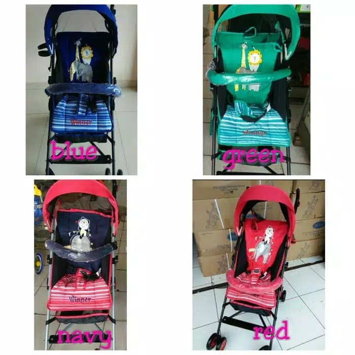 Foto Produk Stroller pliko winner kereta dorong bayi murah dari babymazic