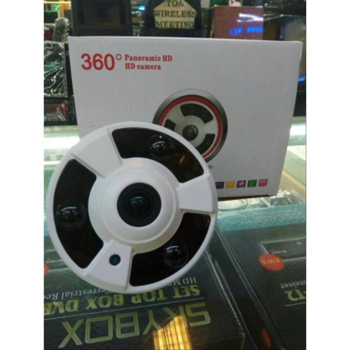 Foto Produk CCTV AHD 360 derajat Fisheye Panoramic 4MP Full HD 1080P dari buicctv
