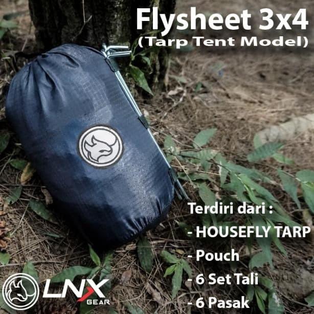 Foto Produk Flysheet LNX Gear Tarp Tent Model dari Cleo Outdoor Adventure