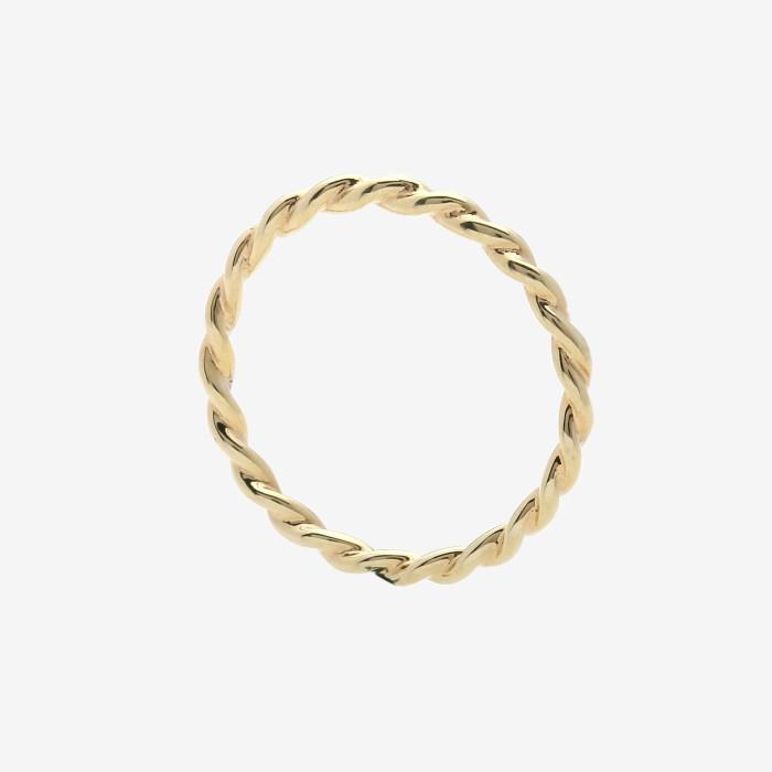 harga Whizliz twist gold ring - putih 14 Tokopedia.com