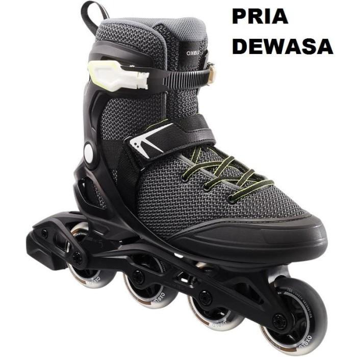 harga Sepatu roda roller skate inline blade dewasa pria adult ukuran besar Tokopedia.com