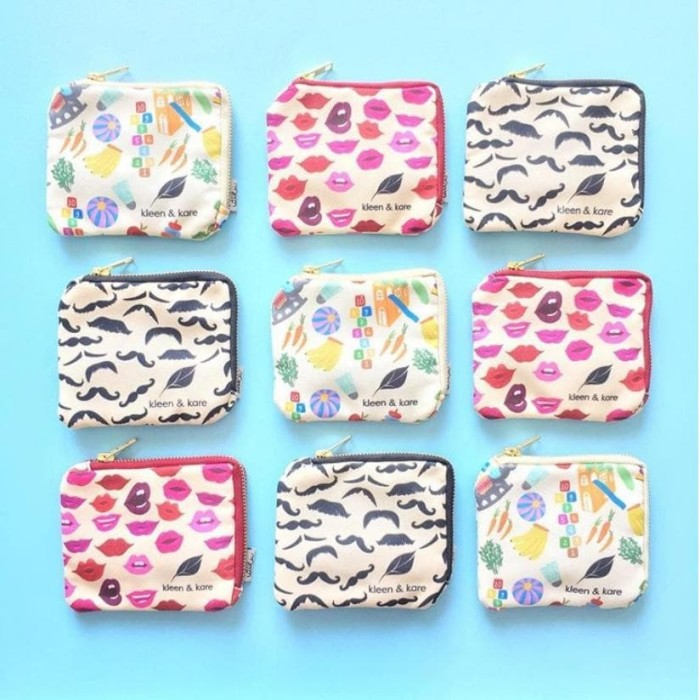 Foto Produk Pouch Roll On by Ideku Handmade 3 botol. Essential Oil, Dompet Roll On dari Kleen and Kare