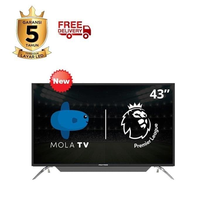 harga Mola polytron smart tv 43 Tokopedia.com