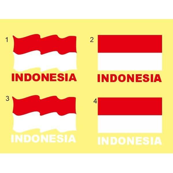 Jual Stiker Bendera Indonesia Merah Putih Stiker Cutting Kota Surabaya Stikerpedia Tokopedia