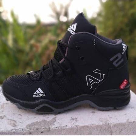Jual Sepatu Adidas Ax2 Boots Goretex Basket Grade Original Hitam