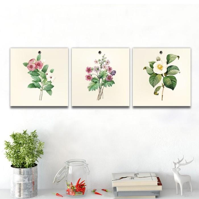 Jual Home Decor Hiasan Pajangan Dinding Flowers 1 Set Ph008 Kota Surabaya Despiansyah Gustass Tokopedia