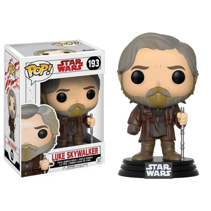 Jual Funko Pop Original Star Wars 8 The Last Jedi Luke Skywalker Kota Medan Indra Corner Tokopedia