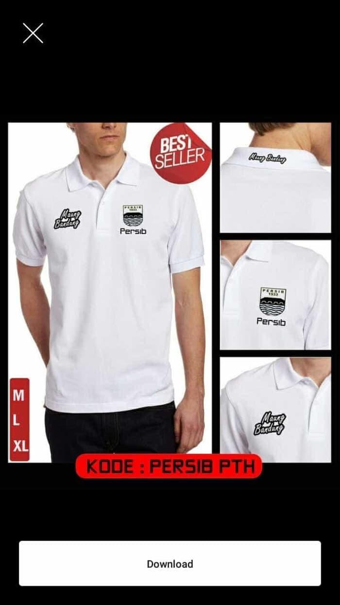 Jual Kaos Polo Polo Shirt MAUNG BANDUNG PERSIB Jakarta Timur Vinda Cloth