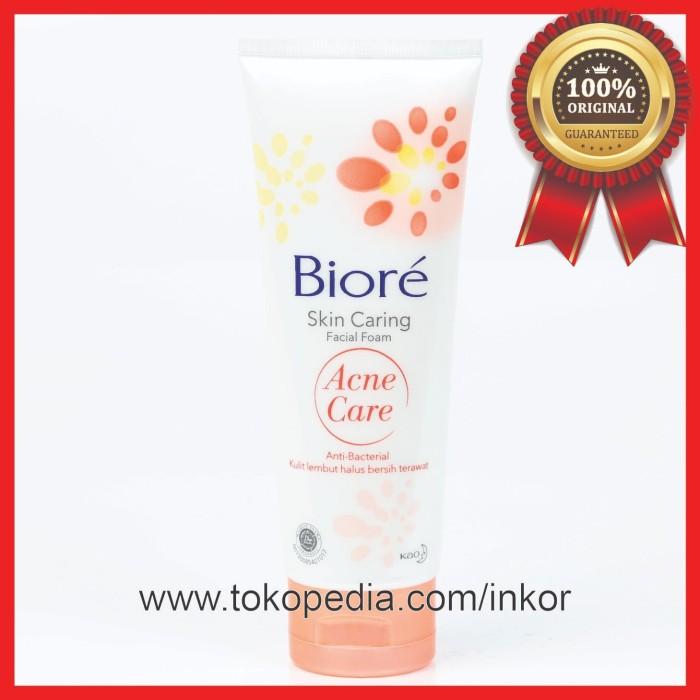 Jual BIORE SKIN CARING FACIAL FOAM ACNE CARE 100GR - Kab  Tangerang - Inko  | Tokopedia