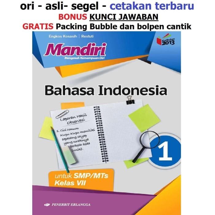 10+ Kunci Jawaban Bahasa Indonesia Erlangga 27 PNG