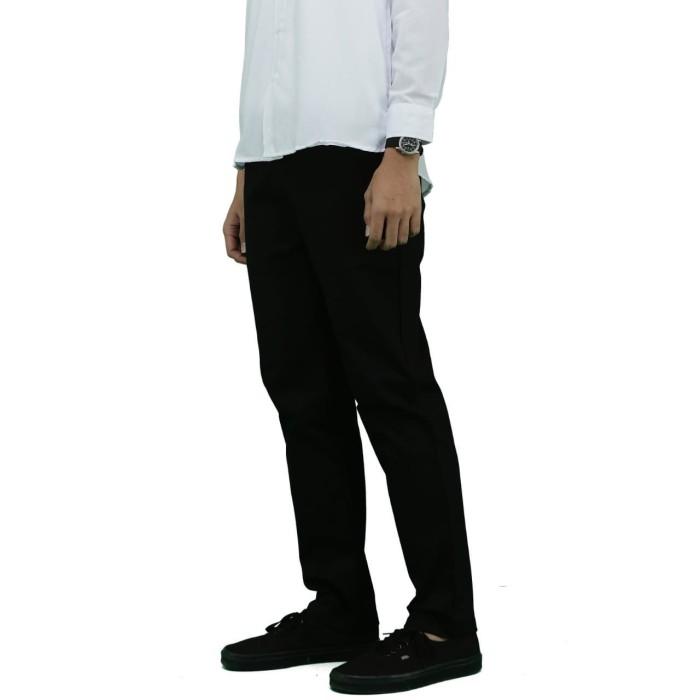 harga Dailyoutfits chino celana panjang pria hitam casual premium quality - 5xl Tokopedia.com