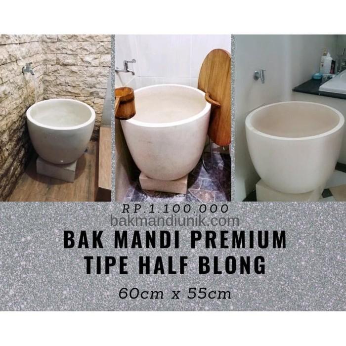 Foto Produk Bak Mandi Premium Tipe Halfblong dari Teras Terrazzo