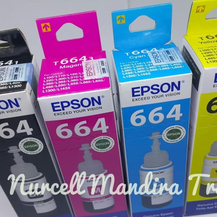 harga Tinta epson l100/l110/l120/l200/l210/l220/l300/l310 original 1 pa Tokopedia.com