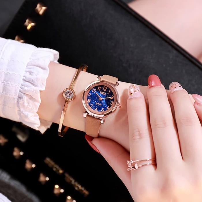 harga Jam tangan leather quartz fashion wanita korea kulit analog fashion#42 Tokopedia.com