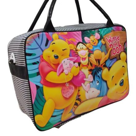 harga Tas travel bag koper selempang anak winnie the pooh ukuran besar murah Tokopedia.com
