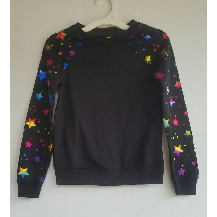 Foto Produk Kaos Sweatshirt Athletic works Black Star Anak Perempuan dari Kiosga Collection