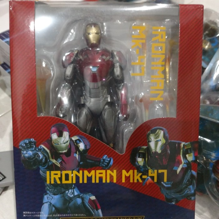 SHF S.H Figuarts Marvel Avengers Iron Man Action Figure Mk-47 NUOVO IN SCATOLA