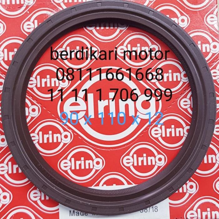 Foto Produk seal krek as belakang bmw e46 m52 m50 90 x 110 x 12 dari BERDIKARI MOTORS