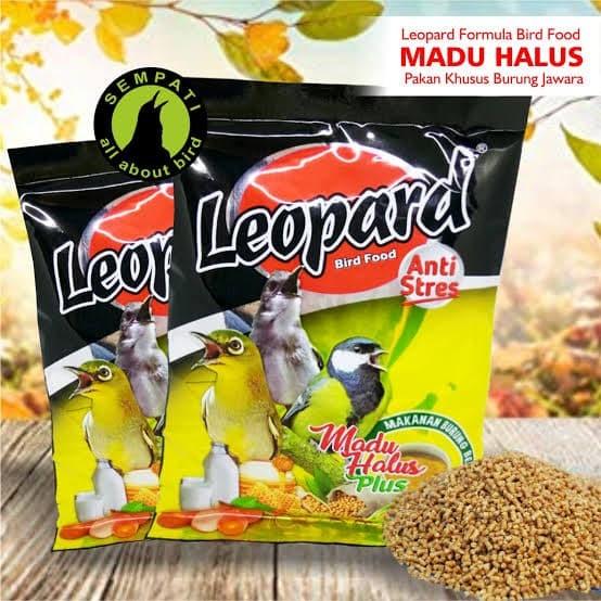 Jual Leopard Makanan Burung Anti Stress Kab Bandung Sundari Birdshope Tokopedia