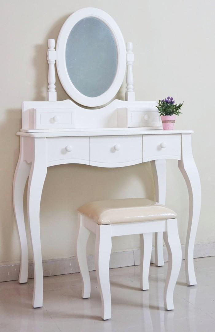 Meja Rias Furniture Unik Putih Duco
