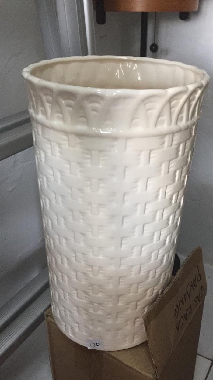Jual Vas Pot Bunga Keramik Anyam Tinggi Harga Grosir Jakarta Pusat Carlene Madiaxi