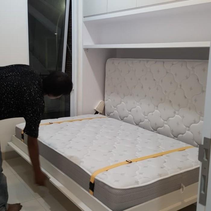 Jual Wall Bed Indonesia Tempat Tidur Lipat Ke Dinding Kota Tangerang Selatan Warung Interior Tokopedia