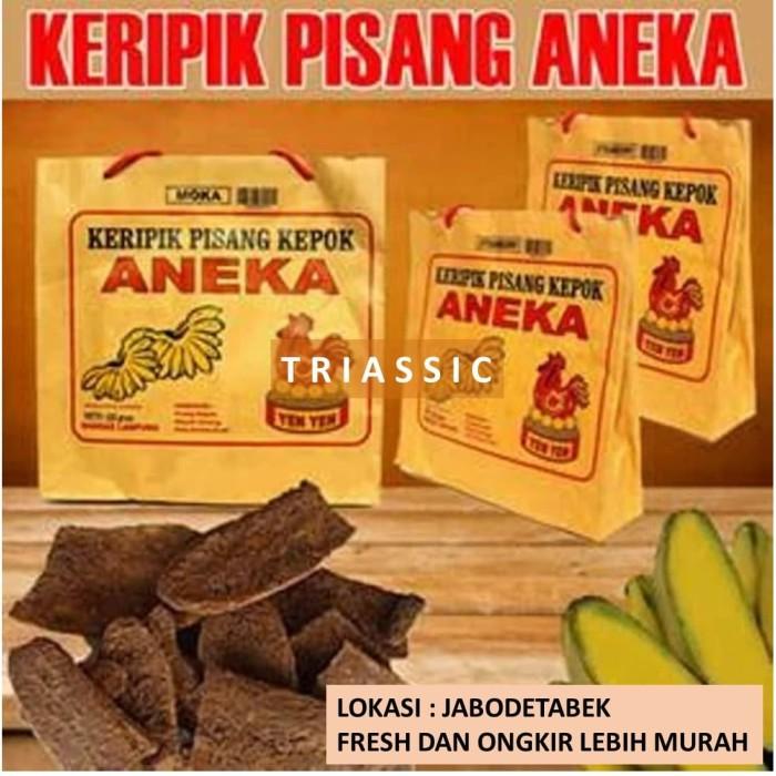 Gambar Keripik Pisang Coklat Khas Lampung Jual Keripik Pisang Yenyen Kepok Rasa Coklat Khas Lampung Kota