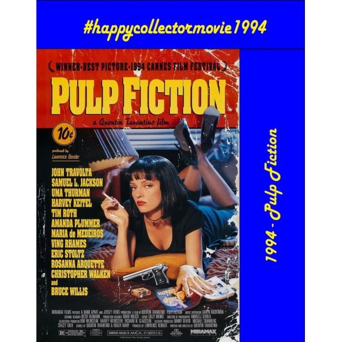 Jual Dvd Pulp Fiction 1994 Jakarta Selatan Happyc Shop Tokopedia