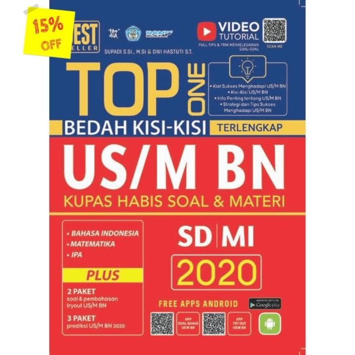 Foto Produk TOP ONE BEDAH KISI-KISI TERLENGKAP US/M BN SD/ MI 2020 dari Toko Kutu Buku
