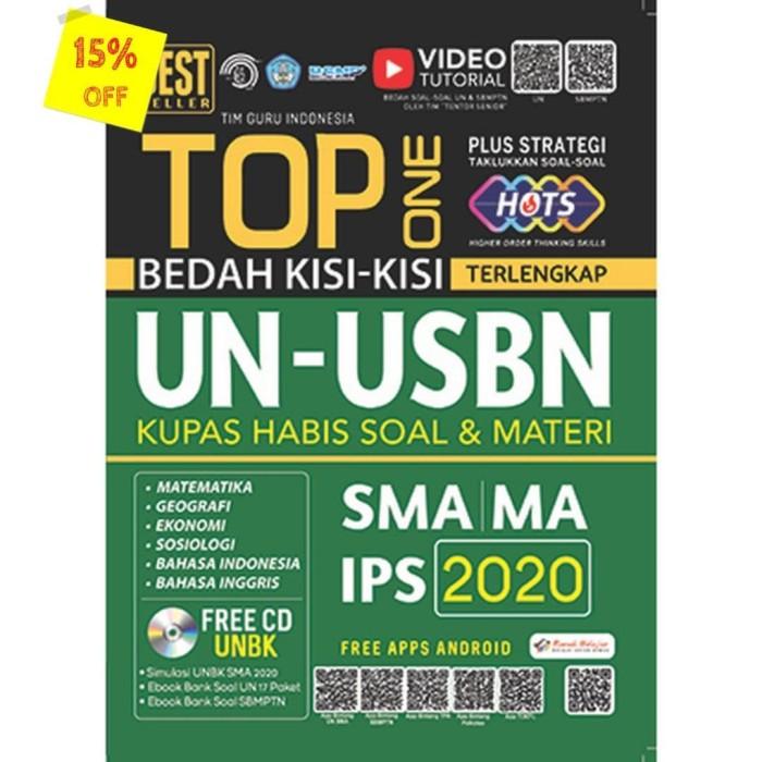 Foto Produk TOP ONE BEDAH KISI-KISI TERLENGKAP UN-USBN SMA IPS 2020 dari Toko Kutu Buku