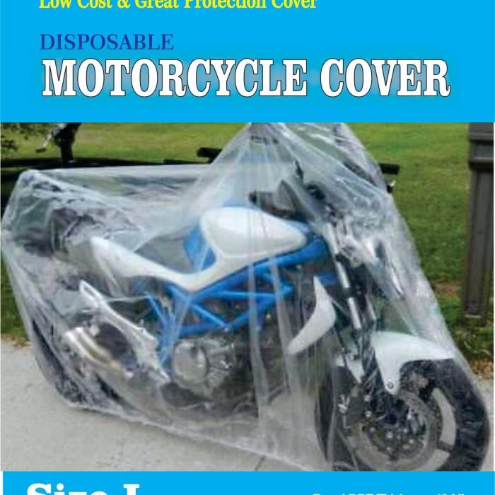 Foto Produk COVER MOTOR TRANSPARAN/DISPOSABLE PLASTIC MOTOCYCLE COVER - L dari Ekspan30